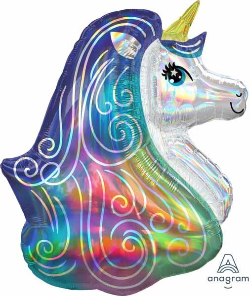 Iridescent Rainbow Unicorn - Supershape