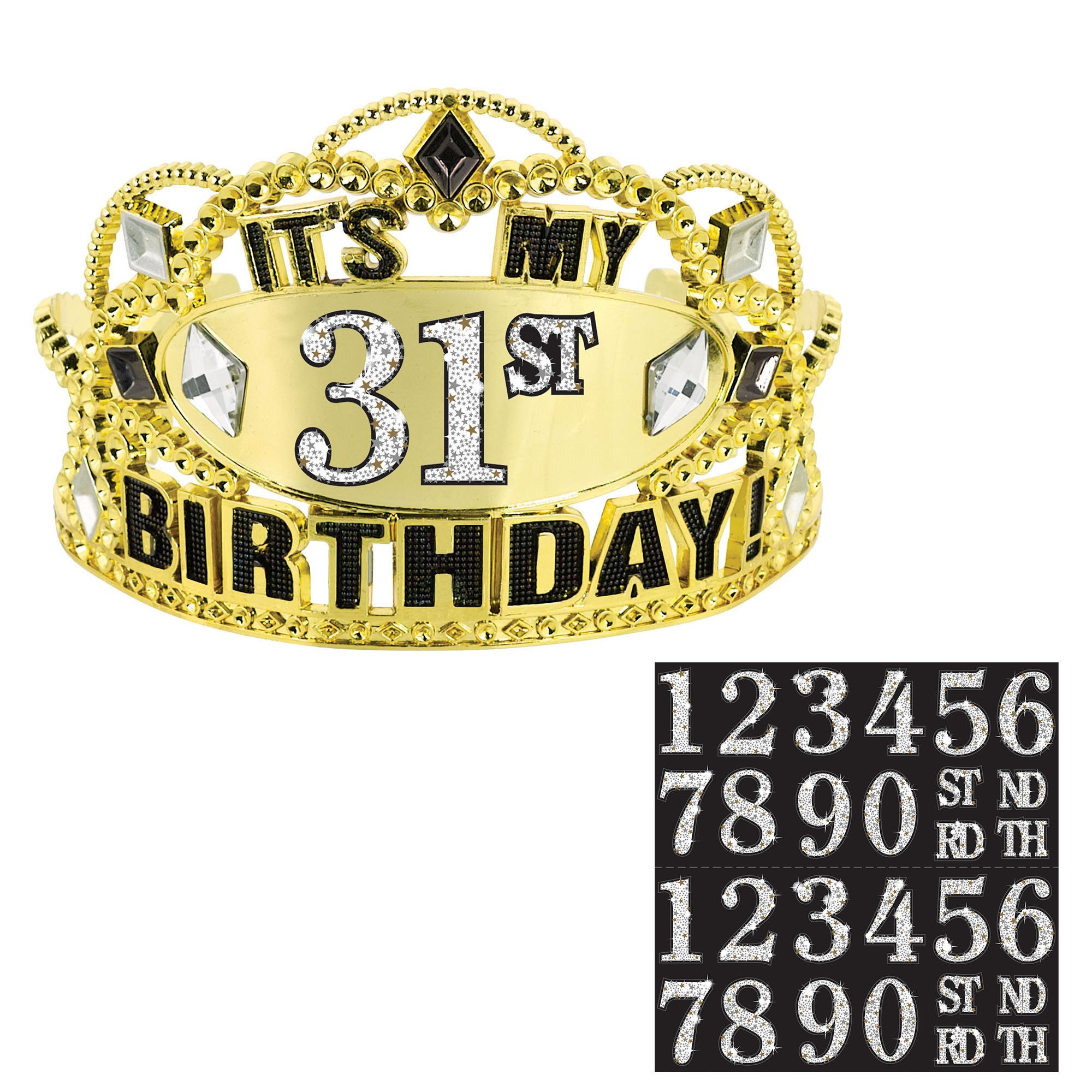 Customizable Birthday Tiara