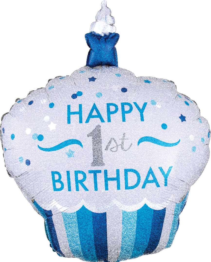 1st Bday Cupcake