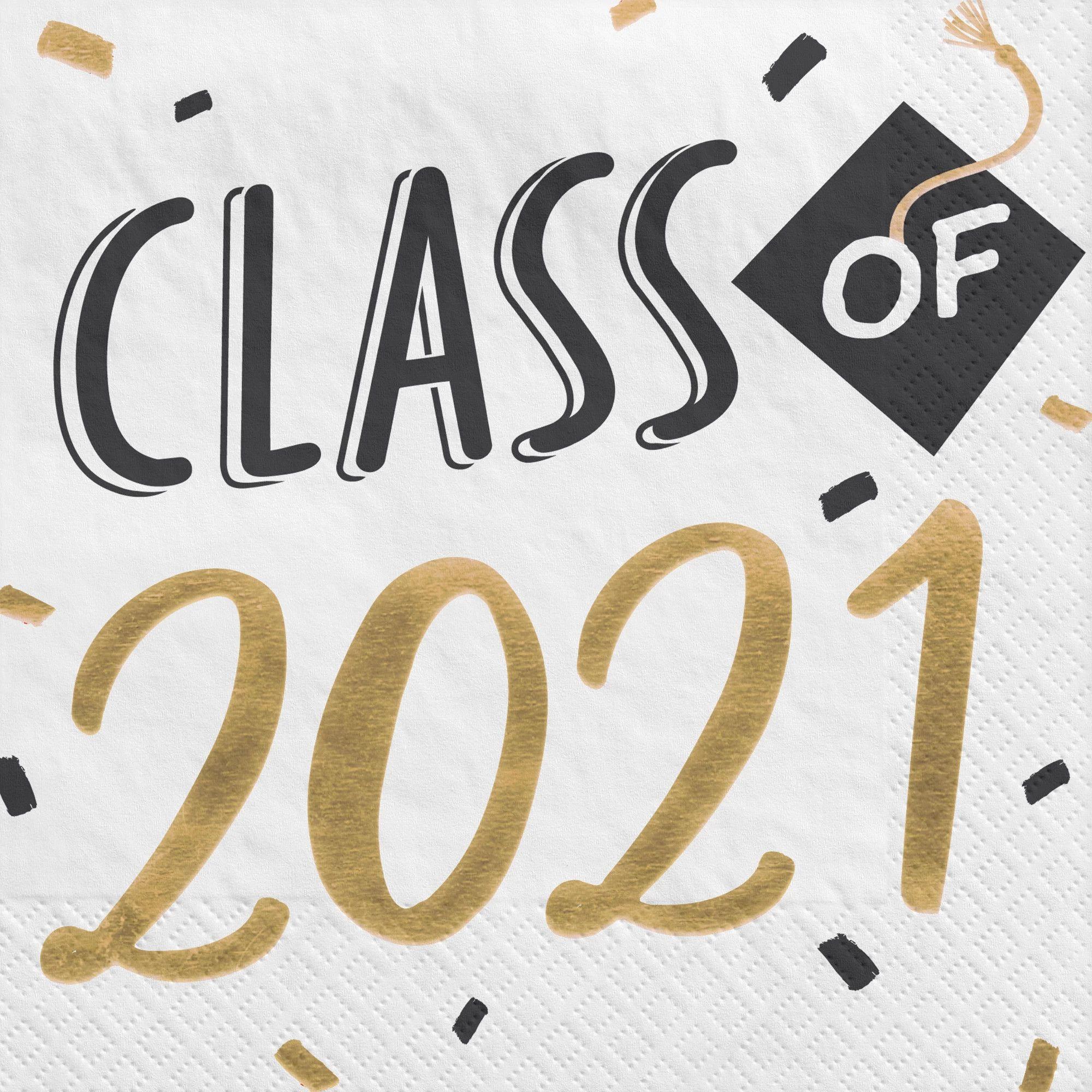 2021 Grad Lunch Napkin